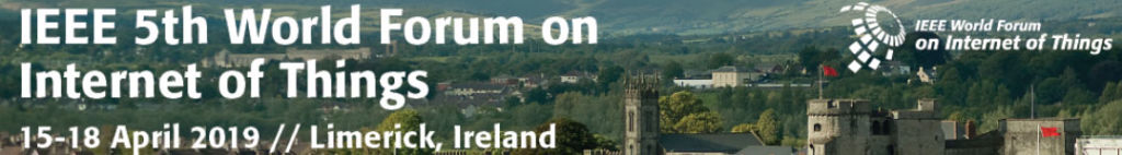 WF-IoT'19 @ Limerick, Ireland
