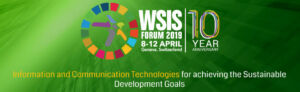 World Summit on the Information Society (WSIS) Forum 2019 @ Geneva, Switzerland