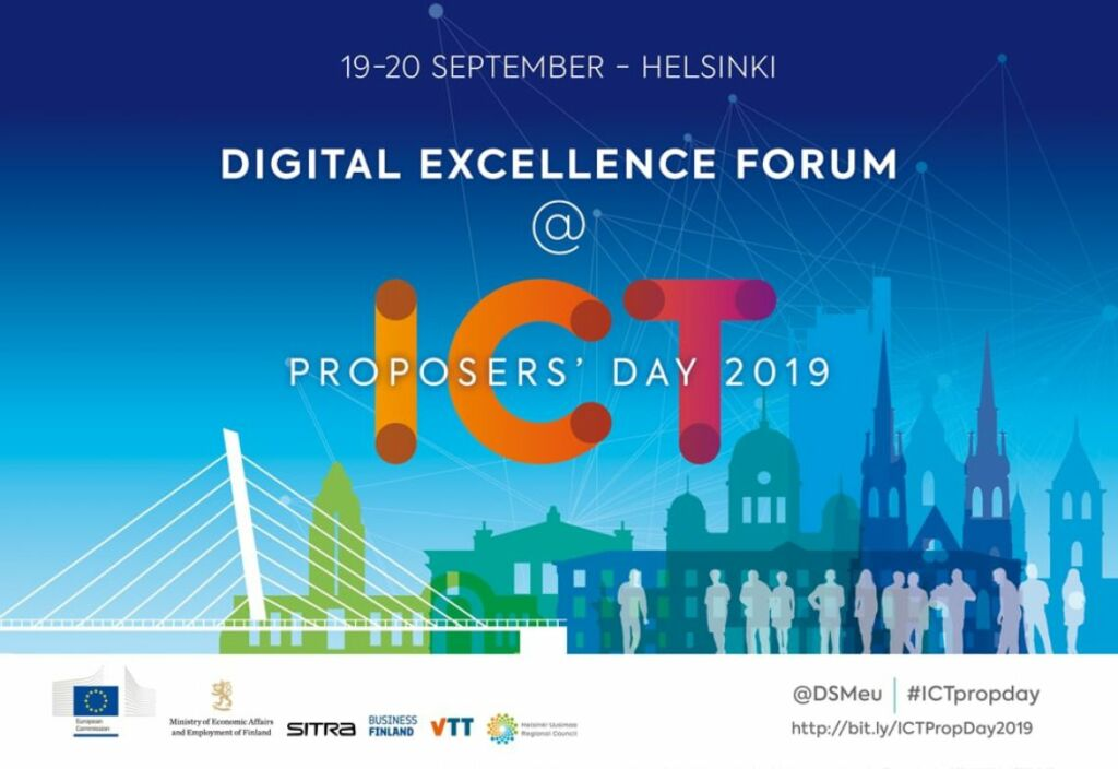 Digital Excellence Forum @ ICT Proposers' Day 2019 @ Helsinki, Finland