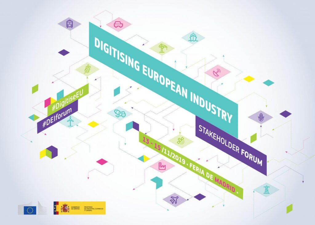 Digitising European Industry Stakeholder Forum 2019 @ Madrid, Spain