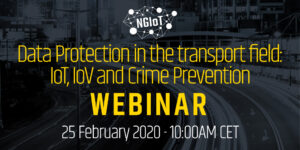 NGIoT Webinar: Data Protection in the transport field