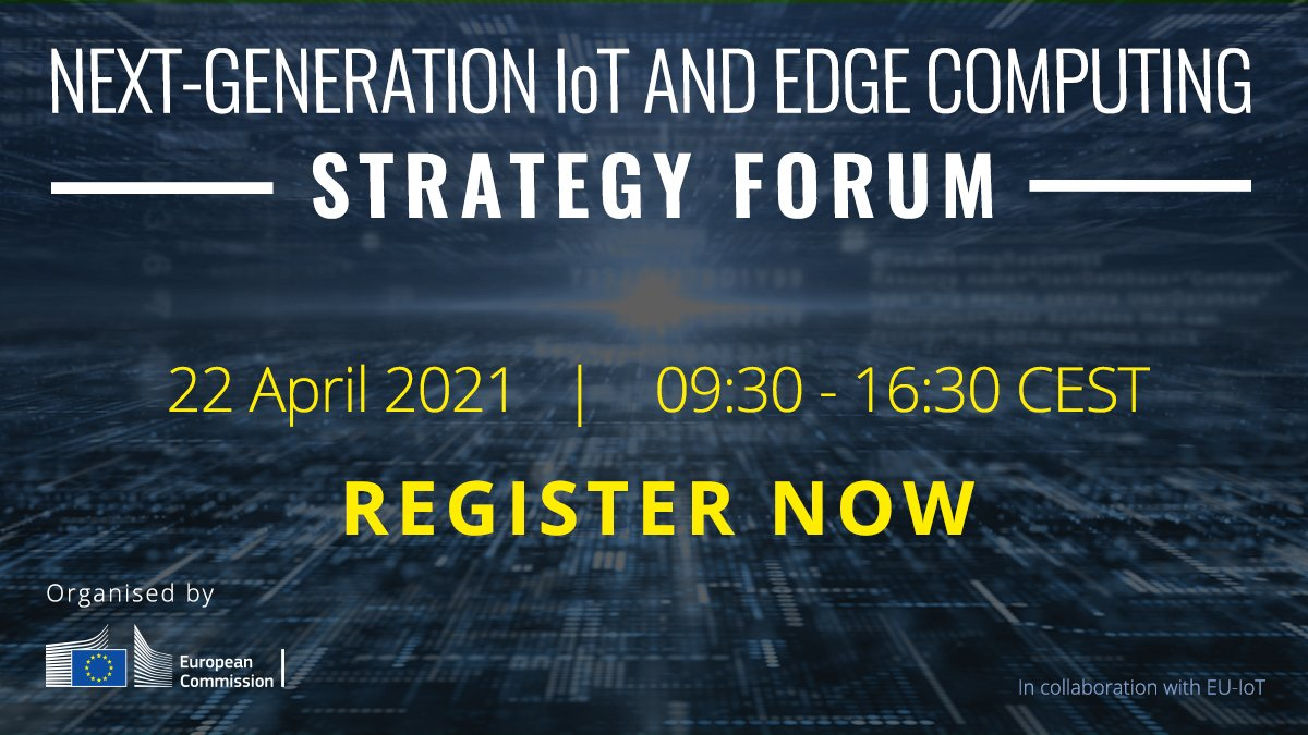 Next-Generation IoT and Edge Computing Strategy Forum @ Online