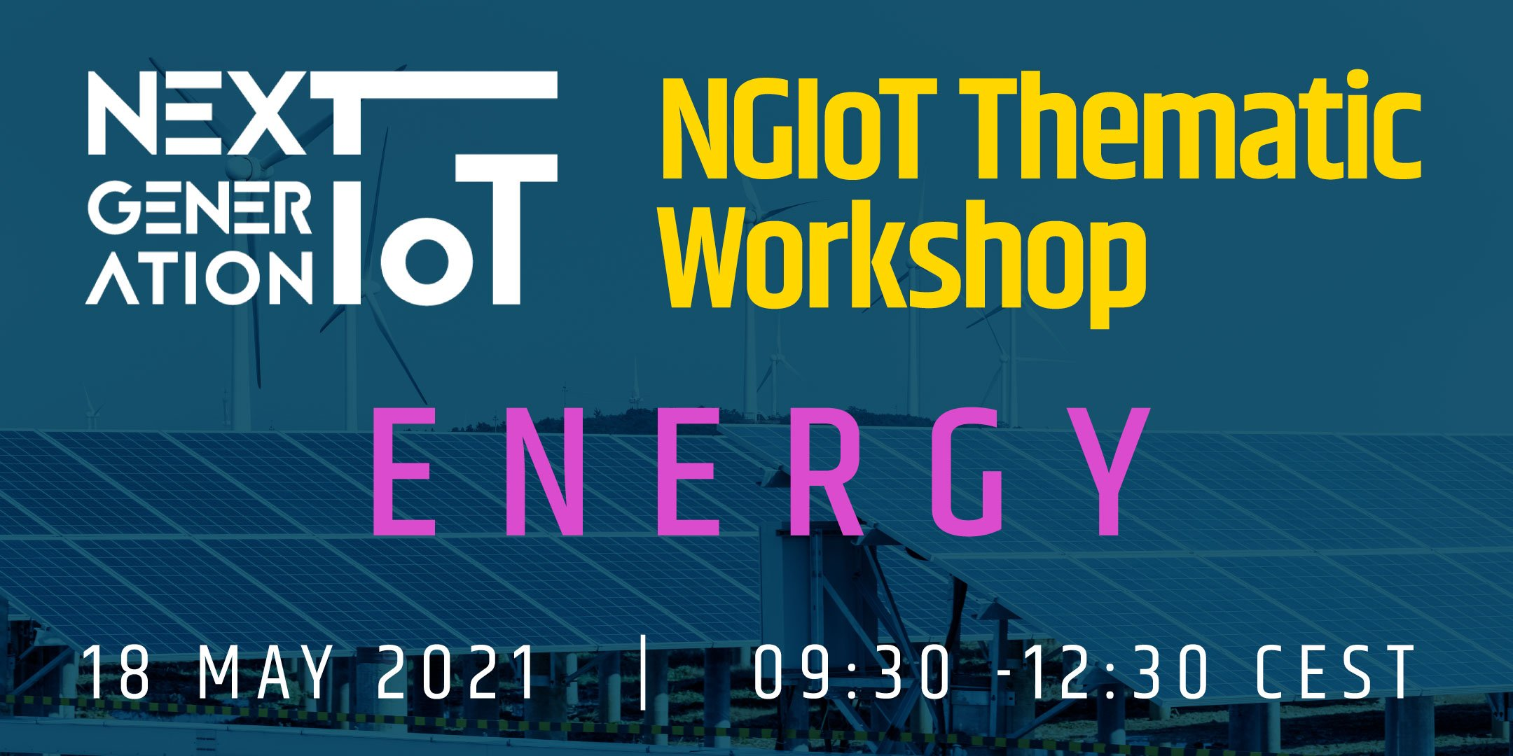 NGIoT Thematic Workshop: Energy @ Online