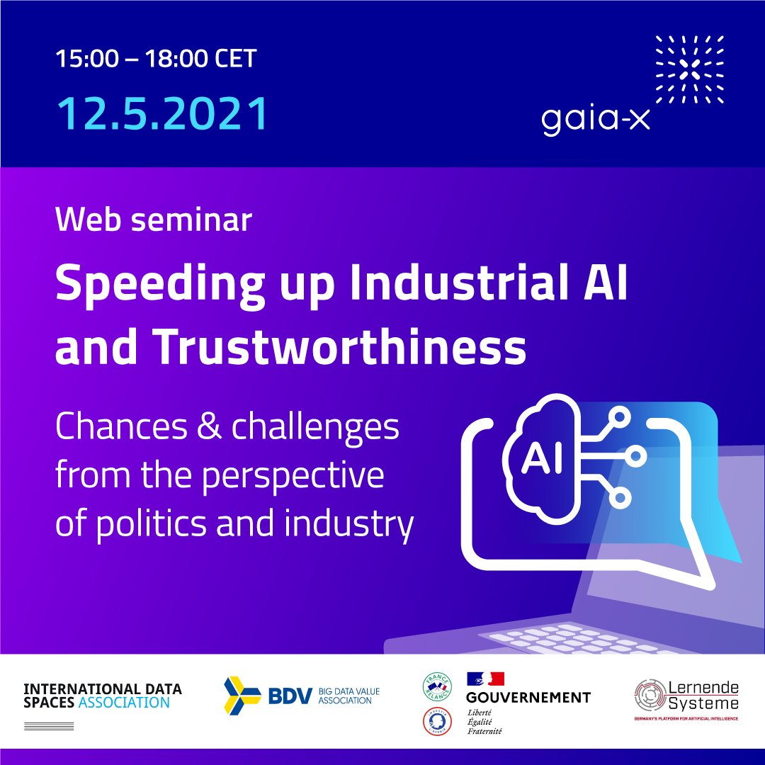 "Web Seminar ""Speeding up Industrial AI and Trustworthiness"" @ Online"